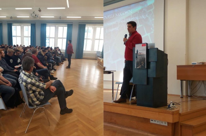Berufsschule für Fertigungstechnik München - IT sicherheit Polizei Experte Cem Karakaya