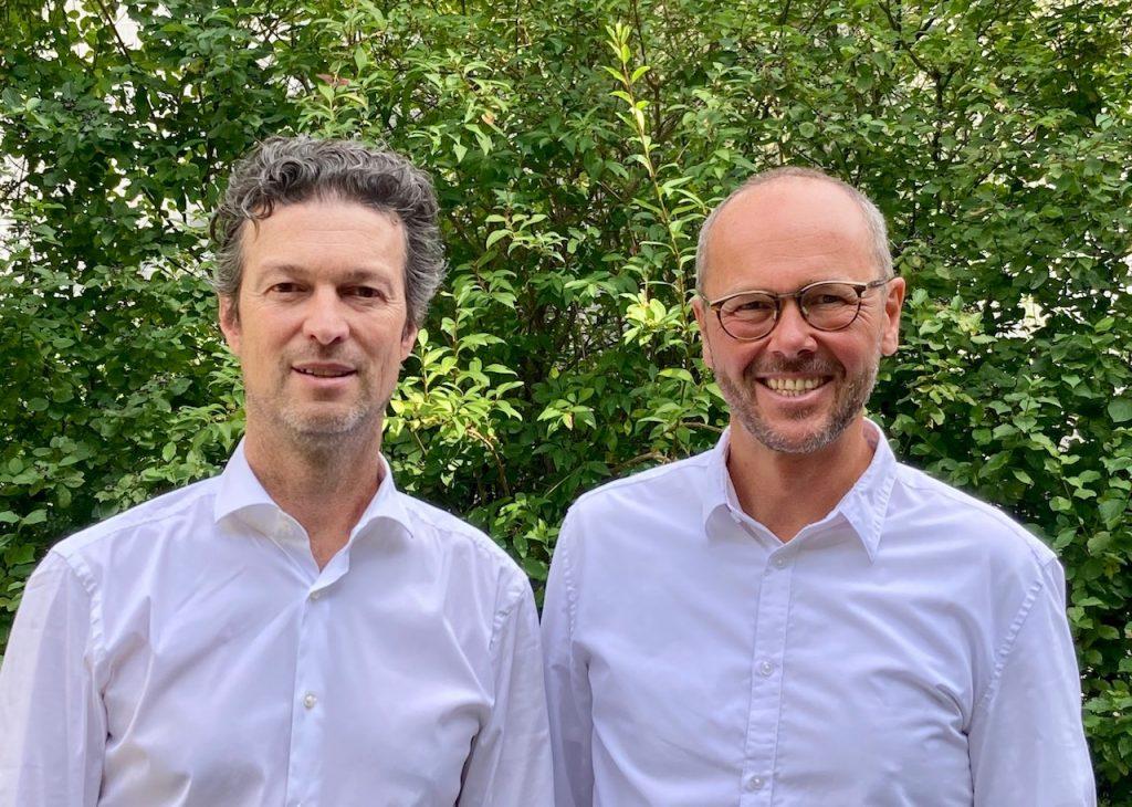 Schulleitung - Berufliches Schulzentrum an der Deroystraße, Peter Stengel und Michael Antonitsch